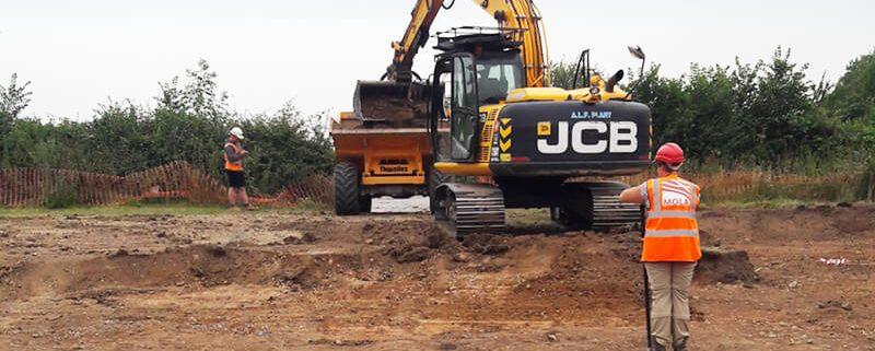 Ground works sharnford