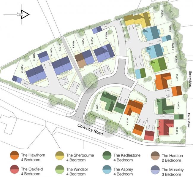 The Paddocks site plan